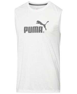 Puma Men's Logo Muscle Tank