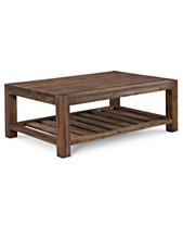 Dark Wood Coffee Tables Macy S