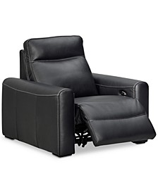 Marzia Leather Power Recliner, Created for Macy's