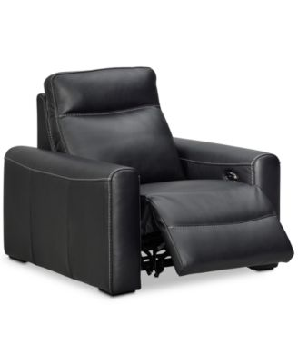 Marzia Leather Power Recliner, Created For Macyu0027s. Furniture