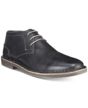 Kenneth Cole Reaction Desert Sun Leather Chukka Boots Men's Shoes thumbnail