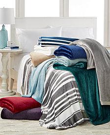 CLOSEOUT Berkshire Classic Velvety Plush Blankets
