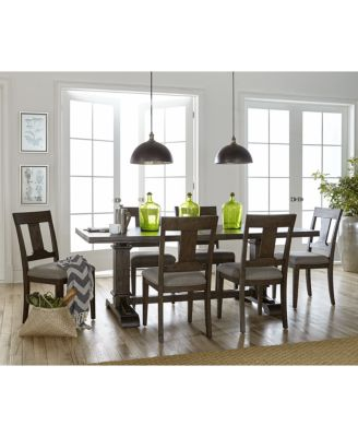 Briarcliff Dining Pedestal Table, Created for Macy\'s - Furniture ...