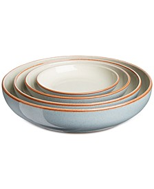 Heritage Terrace Collection 4-Pc. Nesting Bowl Set