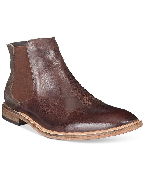 Kenneth Cole Reaction Men's Prove-N Step Plain-Toe Chelsea Boots