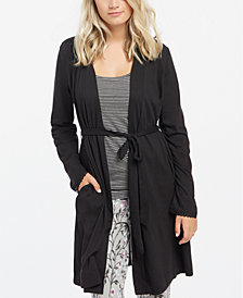 Motherhood Maternity Nursing Belted Robe