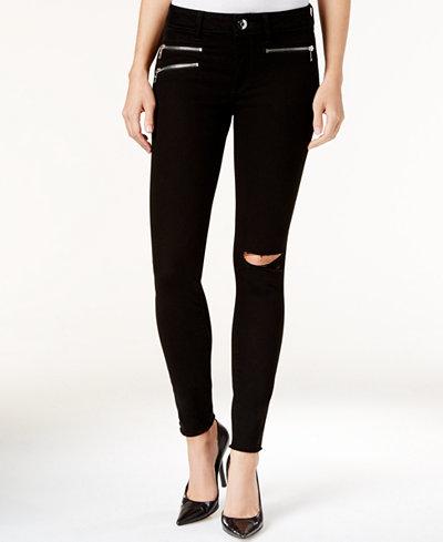 DL 1961 Jessica Alba No. 3 Instasculpt Ripped Skinny Jeans