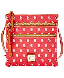 Dooney & Bourke St. Louis Cardinals Triple Zip Crossbody Bag