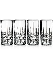 Brady 4-Pc. Highball Glass Set