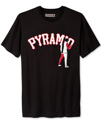 Black Pyramid Men's Graffiti Logo T-Shirt