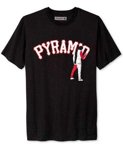 Black Pyramid Men's Graffiti Logo T-Shirt