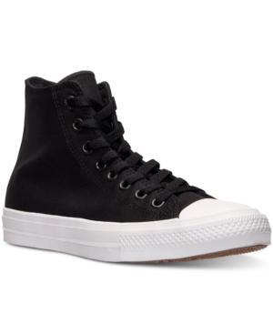 Cheap Converse Chuck Ii High Top Black Mens Casual Shoes