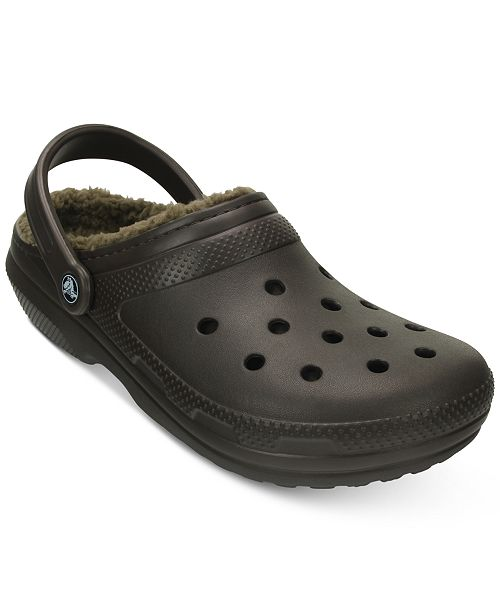26c9ed207872 Crocs Men s Classic Lined Clogs   Reviews - All Men s Shoes - Men ...