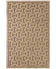 Bungalow Flooring Water Guard Dog Treats Khaki 2'x3' Pet Mat