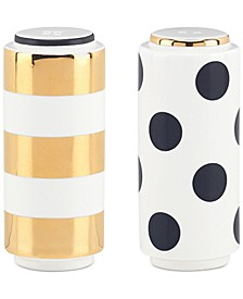 Fairmount Park Stripe and Dot Salt and Pepper Set