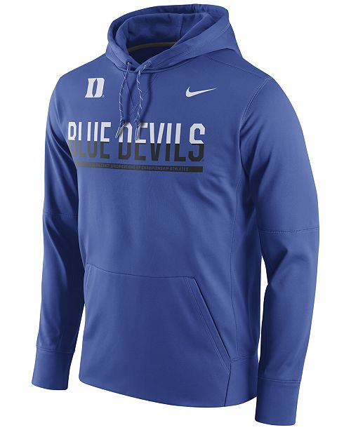 ddeb8df05018 Nike Men s Duke Blue Devils Circuit Hoodie   Reviews - Sports Fan ...