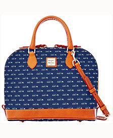 Dooney & Bourke Seattle Seahawks Dooney & Bourke Zip Zip Satchel