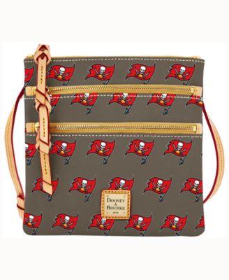 Tampa Bay Buccaneers Dooney & Bourke Triple-Zip Crossbody Bag