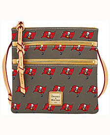 Dooney & Bourke Tampa Bay Buccaneers Dooney & Bourke Triple-Zip Crossbody Bag
