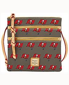 Dooney & Bourke Tampa Bay Buccaneers Dooney & Bourke Triple-Zip Crossbody Bag