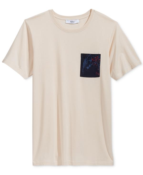 WeSC Men's BenJen Pocket T-Shirt