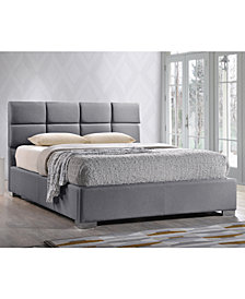 Esdale Modern & Contemporary Upholstered Platform Beds, Quick Ship