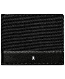 Montblanc Nighflight Black Nylon Wallet 113149