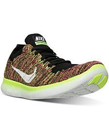 Nike Men's Free Run Flyknit Running Sneakers from Finish Line