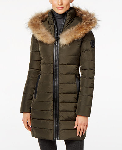 Rud Styled By Rudsak Toreva Asiatic Raccoon Fur Trim