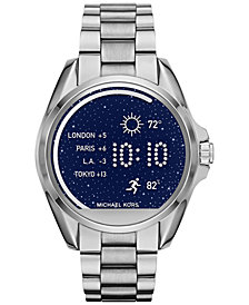 Michael Kors Access Women's Digital Bradshaw Stainless Steel Bracelet Smart Watch 45mm MKT5012