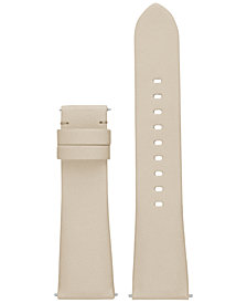Michael Kors Access Women's Bradshaw Gray Leather Smartwatch Strap MKT9005