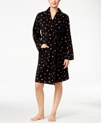 Image of Charter Club Fleece Short Robe, Only at Macy's