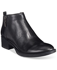 Women's Levon Zip-Up Ankle Booties