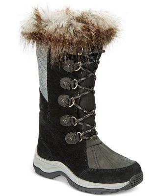 Clarks Collection Women's Wintry Hi Waterproof Cold-Weather Boots