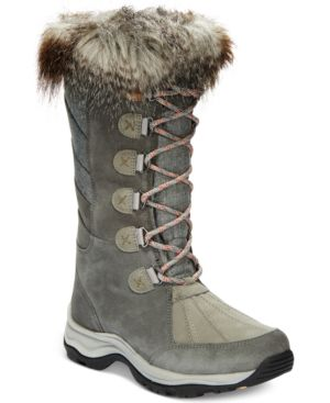 COLLECTION WOMEN'S WINTRY HI WATERPROOF COLD-WEATHER BOOTS WOMEN'S SHOES