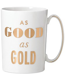 CLOSEOUT! kate spade new york Simply Sparkling Mug
