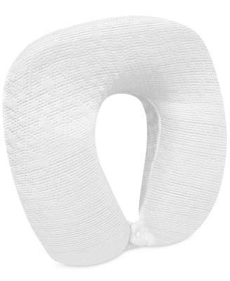 Luxury Pressure Relieving Gel Infused Memory Foam Travel U-Neck Pillow