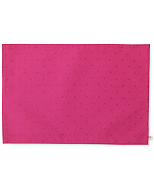 kate spade new york Larabee Dot Pink Placemat