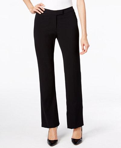 Anne Klein Wide-Leg Trousers