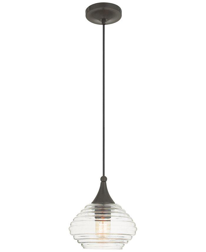 "Livex - Signature 1-Light 8"" Mini Pendant"