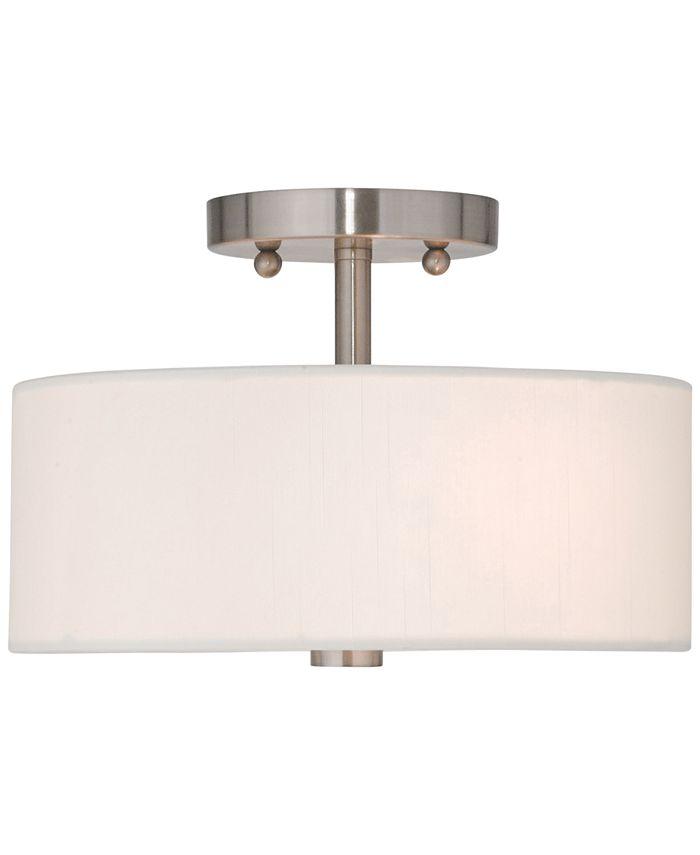 Livex - Brighton Semi-Flush Ceiling Light