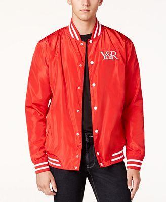Young & Reckless Men's Magistrate Bomber Jacket - Coats & Jackets ...