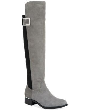 Calvin Klein Women's Cyra Wide-Calf Over-The-Knee Boots Wome