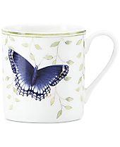 Lenox Butterfly Meadow Everyday Celebrations Relax Mug