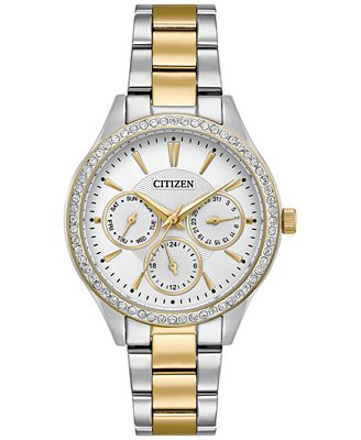 Citizen Women's Two-Tone Stainless Steel Bracelet Watch 36mm ED8169-55A, A Macy's Exclusive