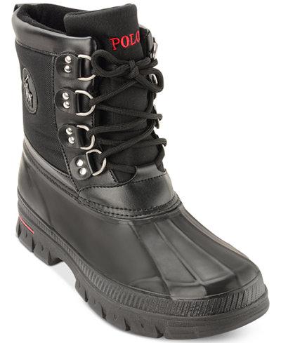 Polo Ralph Lauren Men's Lowen Wet Weather Boots