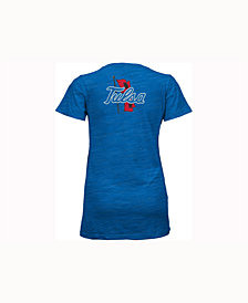 Pressbox Women's Tulsa Golden Hurricane Gander V-Neck T-Shirt