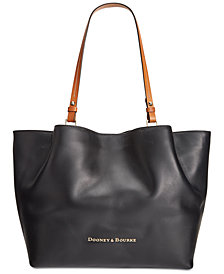 Dooney & Bourke City Flynn Smooth Leater Tote