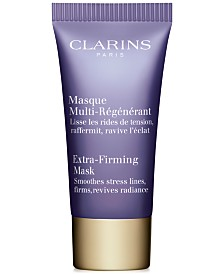 Receive a FREE Trial Size Extra-Firming Mask with $100 Clarins Purchase!