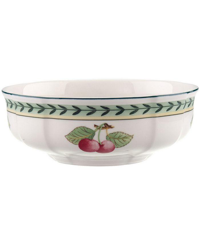 "Villeroy & Boch - ""French Garden"" Fleurence Cereal Bowl"